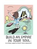 Jeremyville: Build An Empire In Your Soul Poster par  Jeremyville