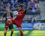 Apr 12, 2014 - MLS: Real Salt Lake vs Philadelphia Union - Kyle Beckerman Photo by John Geliebter
