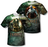 Youth: The Hobbit: The Battle of the Five Armies - Dwarves Vs Azog (Front/Back Print) T-shirts
