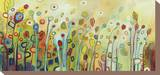 Binnenin Kunst op gespannen canvas van Jennifer Lommers