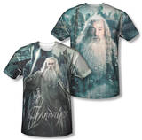 The Hobbit: The Battle of the Five Armies - Wizard (Front/Back Print) T-shirts