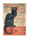 Auction Sale at the Hotel Drouot Giclee Print by Georges Alexandre Steinlen