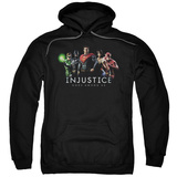 Hoodie: Injustice Gods Among Us - Injustice League Pullover Hoodie