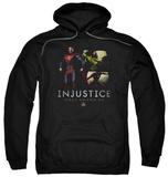 Hoodie: Injustice Gods Among Us - Supermans Revenge Pullover Hoodie