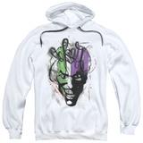 Hoodie: Batman - Joker Airbrush Pullover Hoodie