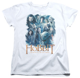 Womans: The Hobbit: The Battle of the Five Armies - Main Characters Shirts