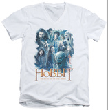 The Hobbit: The Battle of the Five Armies - Main Characters V-Neck T-Shirt