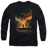 Long Sleeve: The Hobbit: The Battle of the Five Armies - Smaug Poster T-Shirt