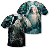 Youth: The Hobbit: The Battle of the Five Armies - Wizard (Front/Back Print) T-shirts