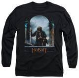 Long Sleeve: The Hobbit: The Battle of the Five Armies - Bilbo Poster T-shirts