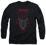 Long Sleeve: The Hobbit: The Battle of the Five Armies - Evil's Helm Shirt