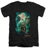 The Hobbit: The Battle of the Five Armies - Elrond's Crew V-Neck Shirt