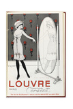 Catalogue Cover of the Louvre Department Store Giclee Print