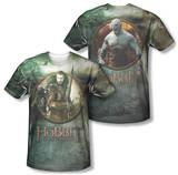 The Hobbit: The Battle of the Five Armies - Dwarves Vs Azog (Front/Back Print) T-shirts