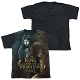 Youth: The Hobbit: The Battle of the Five Armies - King(black back) Shirt