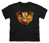 Youth: The Hobbit: The Battle of the Five Armies - Reign In Flame T-Shirt