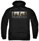 Hoodie: Injustice Gods Among Us - Logo Pullover Hoodie