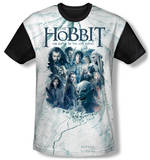 The Hobbit: The Battle of the Five Armies - Ready For Battle(black back) T-Shirt