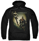 Hoodie: Injustice Gods Among Us - Battle Of The Gods Pullover Hoodie