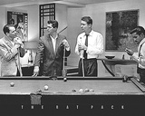 Rat Pack - Shooting Pool Photo