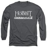 Long Sleeve: The Hobbit: The Battle of the Five Armies - Walking Logo T-Shirt