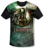 Youth: The Hobbit: The Battle of the Five Armies - Dwarves Vs Azog(black back) Shirt