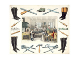 Cobblers, Bootmakers Giclee Print