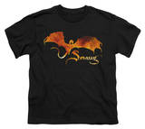 Youth: The Hobbit: The Battle of the Five Armies - Smaug On Fire T-shirts
