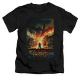 Juvenile: The Hobbit: The Battle of the Five Armies - Smaug Poster T-shirts