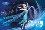 Frozen - Snow Queen French Langauge アートポスター