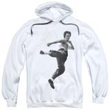 Hoodie: Bruce Lee - Flying Kick Pullover Hoodie
