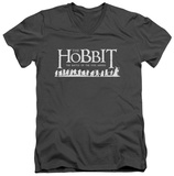 The Hobbit: The Battle of the Five Armies - Walking Logo V-Neck T-shirts