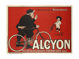 Advertising Poster for Alcyon Bicycles Giclee Print
