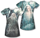 Juniors: The Hobbit: The Battle of the Five Armies - Wizard (Front/Back Print) T-shirts