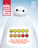 Big Hero 6 - Rate Your Pain Posters