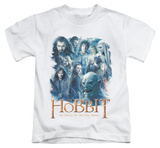 Youth: The Hobbit: The Battle of the Five Armies - Main Characters T-shirts