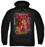 Hoodie: Dragon's Lair - Poster T-Shirt