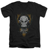 The Hobbit: The Battle of the Five Armies - Azog V-Neck Shirts