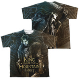 Youth: The Hobbit: The Battle of the Five Armies - King (Front/Back Print) T-Shirt