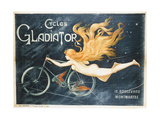 Advertising Poster for Gladiator Bicycles Giclee Print