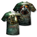 The Hobbit: The Battle of the Five Armies - Dwarves Vs Azog (Front/Back Print) Shirts