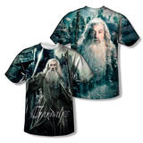 The Hobbit: The Battle of the Five Armies - Wizard (Front/Back Print) T-Shirt