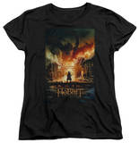 Womans: The Hobbit: The Battle of the Five Armies - Smaug Poster Shirt