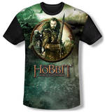 The Hobbit: The Battle of the Five Armies - Dwarves Vs Azog(black back) T-Shirt