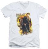 The Hobbit: The Battle of the Five Armies - Bilbo V-Neck T-shirts