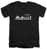 The Hobbit: The Battle of the Five Armies - Orc Company V-Neck T-shirts