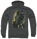 Hoodie: Batman Arkham Origins - Deathstroke Pullover Hoodie