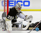 Marc-Andre Fleury 2013-14 Playoff Action Photo