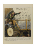 Do You Want Gold, Money, Diamonds Millions and Billions  Come Closer and Help Yourself... Giclee Print by Honore Daumier
