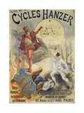 Cycles Hanzer, 40, Avenue de la Grande Armee, Paris Giclee Print by  Léon Valentin and J. Proust